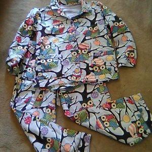 Nick and Nora Flannel Pajamas